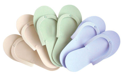 Picture of Spa Slippers Sage