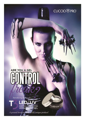 Picture of Poster A2 formaat - Cuccio T3 LED/UV gel