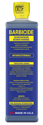 Picture of Barbicide Desinfectie  concentraat 473 ml