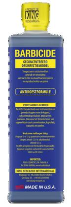 Afbeeldingen van Barbicide Desinfectie  concentraat 473 ml