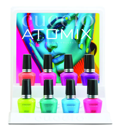 Bild für Kategorie Colour Veneer Gelpolish - Atomix Collection (summer 2018)