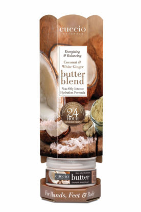 Afbeeldingen van Tower Butterblends Coconut & White Ginger 6x 226 gram