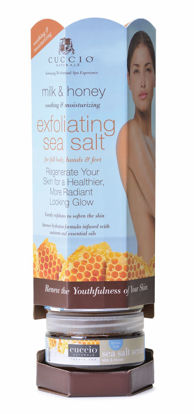 Afbeeldingen van Tower Sea Salt Scrub Milk & Honey 6x 226 gram