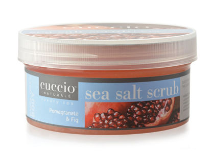 Afbeeldingen van Sea Salt Scrub Pomegranate & Fig 553 gram