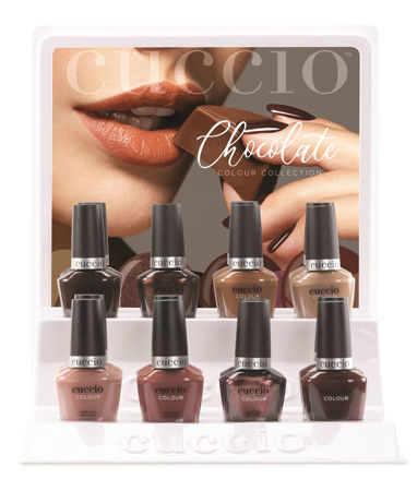 Bild für Kategorie Colour Nailpolish - Chocolate Collection (Fall/Winter 2020)