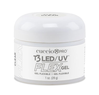 Afbeeldingen van T3 LED/UV Flex Gel - Clear 28 gram
