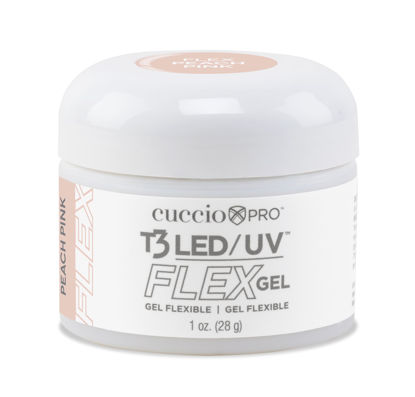 Afbeeldingen van T3 LED/UV Flex Gel - Peach Pink 28 gram