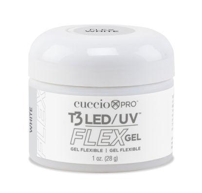 Afbeeldingen van T3 LED/UV Flex Gel - Soft White 28 gram