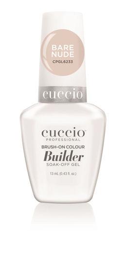 Afbeeldingen van LED/UV  Brush on Builder Colour Gel - Bare Nude 13ml