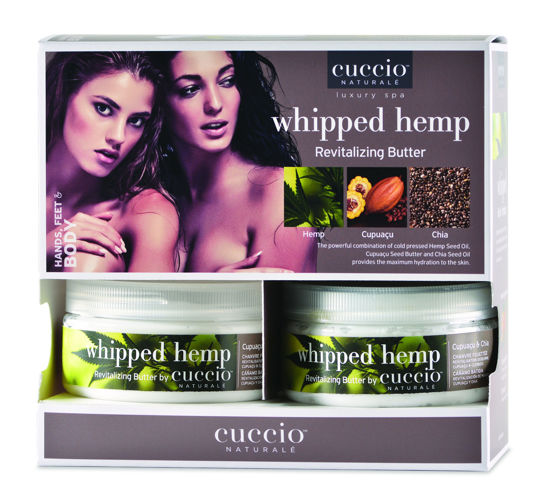 Bild von Display Whipped Hemp Butterblend 226 gram (6 stuks)