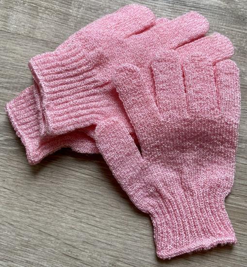 Picture of Scrub handschoen - roze
