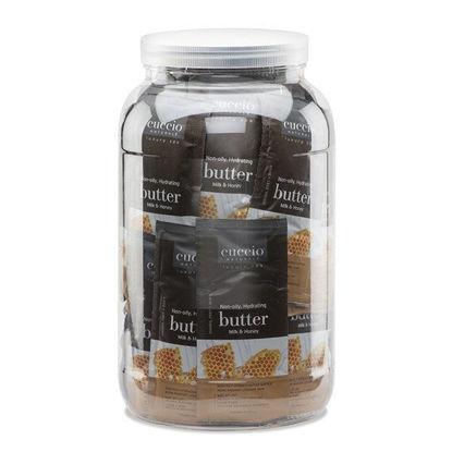 Afbeeldingen van Bucket met 50 x Sachet Butterblend Milk & Honey