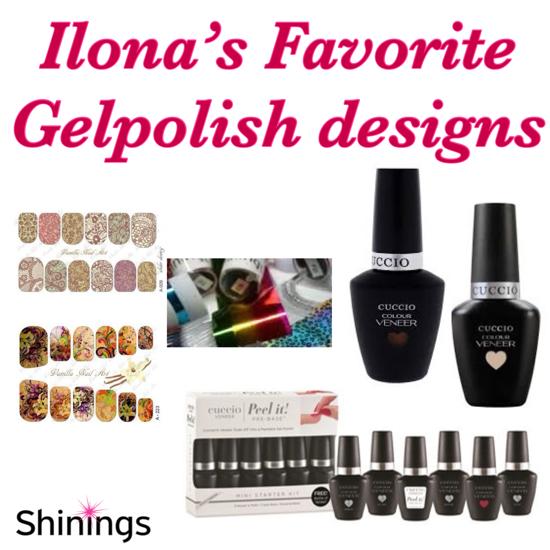 Bild von Ilona's favorite Gelpolish Designs