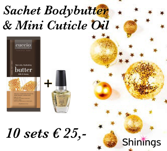 Afbeeldingen van Sachet Butterblend & Mini Cuticle Oil - 10 sets