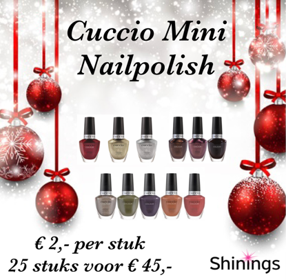 Afbeeldingen van Mini Colour Nailpolish - set van 25 stuks